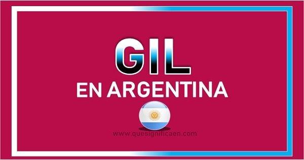 Significado de Gil en Argentina