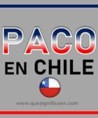 Que significa paco en Chile