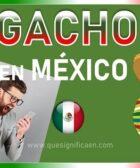 significado de gacho en mexico