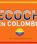 Que significa recochero en Colombia
