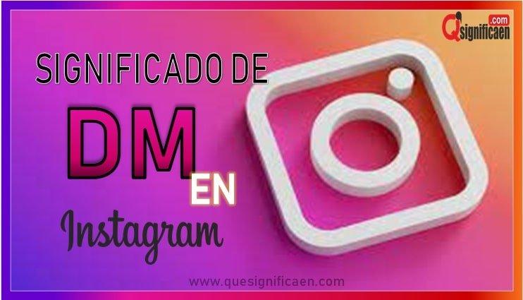 Cual es el significado de md en instagram